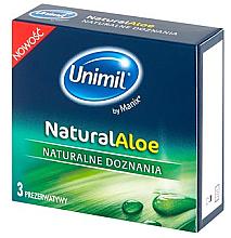 Parfüm, Parfüméria, kozmetikum Óvszer 3 db - Unimil Natural Aloe