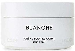 Parfüm, Parfüméria, kozmetikum Byredo Blanche - Testkrém