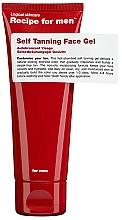 Parfüm, Parfüméria, kozmetikum Önbarnító gél - Recipe For Men Self Tanning Face Gel
