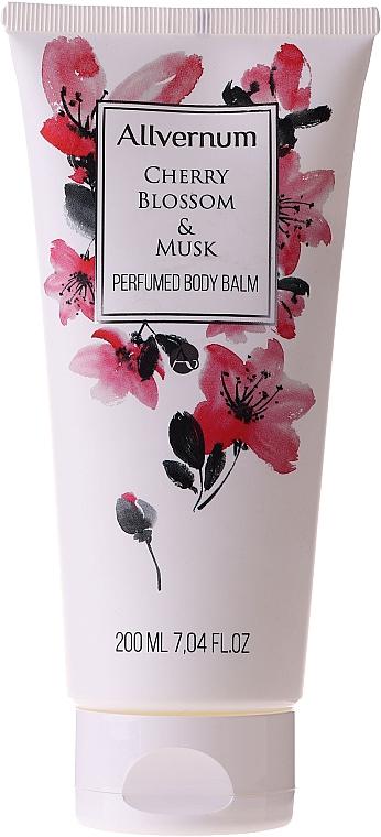 Parfümös testápoló balzsam - Allverne Cherry Bloosom & Musk