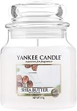 Parfüm, Parfüméria, kozmetikum Illatos gyertya pohárban - Yankee Candle Shea Butter