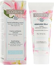 Parfüm, Parfüméria, kozmetikum Arckrém liliom kivonattal - Coslys Facial Care Exfoliating Facial CreamWith Lily Extract