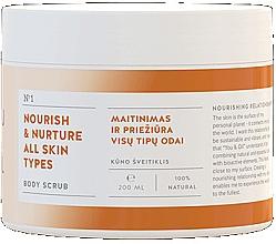 Parfüm, Parfüméria, kozmetikum Tápláló testradír - You & Oil Nourish & Nuture