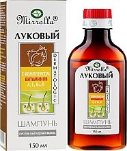 Parfüm, Parfüméria, kozmetikum Hagymás sampon vitamin komplexel - Mirrolla