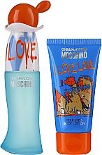 Parfüm, Parfüméria, kozmetikum Moschino I Love Love - Szett (edt/30ml + b/lot/50ml)
