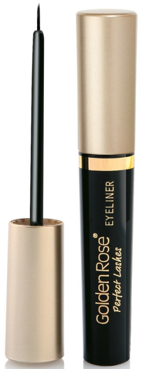 Szemhéjtus - Golden Rose Perfect Lashes Black EyeLiner