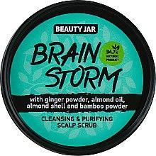"""Parfüm, Parfüméria, kozmetikum Fejbőrradír """"Brain Storm"""" - Beauty Jar Cleansing & Purifying Scalp Scrub"""