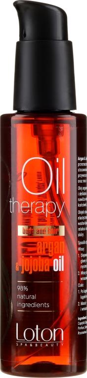 Haj- és testápoló olaj - Loton Argan & Jojoba Oil