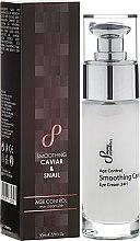 Parfüm, Parfüméria, kozmetikum Anti-age szemkrém - Sayaz Cosmetics Age Control Smoothing Caviar & Snail Eye Cream 24H