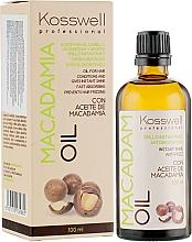 Parfüm, Parfüméria, kozmetikum Helyreállító hajolaj - Kosswell Professional Macadamia Oil