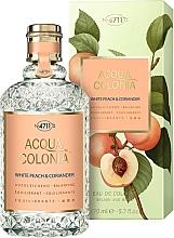 Parfüm, Parfüméria, kozmetikum Maurer & Wirtz 4711 Acqua Colonia White Peach & Coriander - Kölni