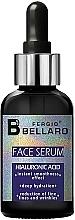 Parfüm, Parfüméria, kozmetikum Arcszérum hialuronsavval - Fergio Bellaro Face Serum Hyaluronic Acid