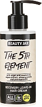 "Parfüm, Parfüméria, kozmetikum Regeneráló hajkrém ""The 5th Element"" - Beauty Jar Recovery Leave-In Hair Cream"