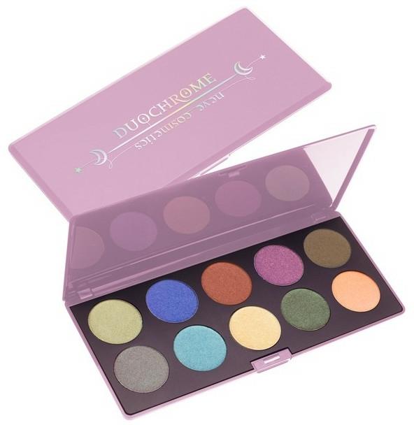 Szemhéjfesték paletta - Neve Cosmetics Duochrome Eyeshadow Palette