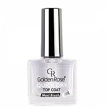 Parfüm, Parfüméria, kozmetikum Top Coat gyorsan száradó fedőlakk - Golden Rose Quick Dry Top Coat