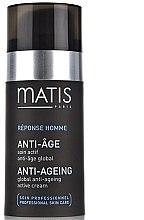 Parfüm, Parfüméria, kozmetikum Aktív öregedésgátló krém - Matis Reponse Homme Global Anti-Aging active cream