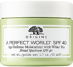 Parfüm, Parfüméria, kozmetikum Arckrém - Origins A Perfect World SPF 40 Age-Defense Moisturizer With White Tea