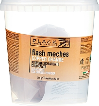 Parfüm, Parfüméria, kozmetikum Hajszínező por - Black Professional LineFlash Meches