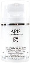 Parfüm, Parfüméria, kozmetikum Savas peeling - APIS Professional Lacticion + Pirogron + Milk + Azelaine 40%