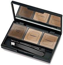 Parfüm, Parfüméria, kozmetikum Szemöldökformázó szett - Golden Rose Eyebrow Styling Kit