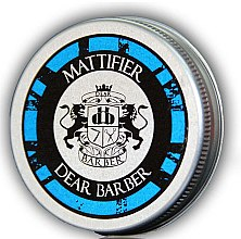 Parfüm, Parfüméria, kozmetikum Matt hajformázó paszta - Dear Barber Mattifier Hair Paste