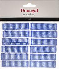 Parfüm, Parfüméria, kozmetikum Tépőzáras hajcsavaró, 15 mm, 12 db - Donegal Hair Curlers