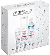 Parfüm, Parfüméria, kozmetikum Szett - Dermedic Angio (cr/40ml + cr/7ml + micel/water/100ml)