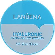 Parfüm, Parfüméria, kozmetikum Hidratáló hidrogél szemtapasz - Lanbena Hyaluronic Acid Collagen Gel Moisturizing Eye Patch