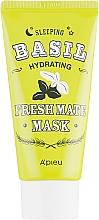 Parfüm, Parfüméria, kozmetikum Hidratáló maszk bazsalikom és baobab kivonatokkal - A'pieu Fresh Mate