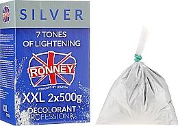 Parfüm, Parfüméria, kozmetikum Hajszőkítő púder, 7 árnyalattal - Ronney Dust Free Bleaching Powder Classic