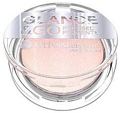 Parfüm, Parfüméria, kozmetikum Hipoallegén szemhéjfesték - Bell HypoAllergenic Glance & Go Pressed Pigment Eyeshadow