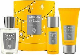 Parfüm, Parfüméria, kozmetikum Acqua Di Parma Colonia Pura - Szett (edc/100ml + sh/gel/75ml + deo/50ml)