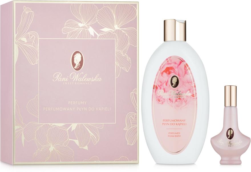 Pani Walewska Sweet Romance - Szett (perfum/30ml + b/foam/500ml)