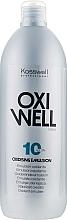 Parfüm, Parfüméria, kozmetikum Oxidáló emulzió 3% - Kosswell Professional Oxidizing Emulsion Oxiwell 3% 10vol