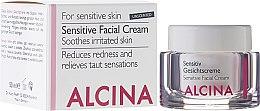 Parfüm, Parfüméria, kozmetikum Krém érzékeny bőrre - Alcina S Sensitive Facial Cream