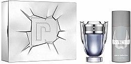 Parfüm, Parfüméria, kozmetikum Paco Rabanne Invictus - Szett (edt/100ml + deo/spr/150ml)