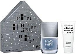 Parfüm, Parfüméria, kozmetikum Issey Miyake L'Eau Majeure D'Issey - Készlet (edt/50ml + sh/g/100ml)