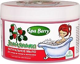 """Parfüm, Parfüméria, kozmetikum Natúr szappan test- és haj ápolására """"Erdei szamóca"""" - Floresan"""