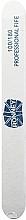 Parfüm, Parfüméria, kozmetikum Körömreszelő, 100/180, fehér, egyenes - Ronney Professional