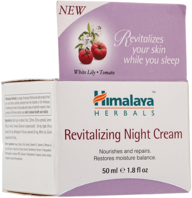Regeneráló éjszakai krém - Himalaya Herbals Revitalizing Night Cream — fotó N3