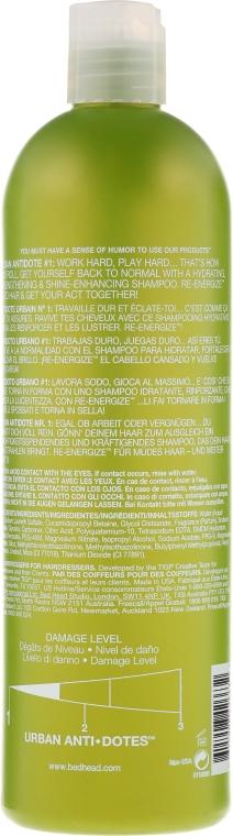 Sampon normál hajra - Tigi Bed Head Urban Antidotes Re-energize Shampoo — fotó N4