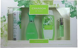 Parfüm, Parfüméria, kozmetikum Coty Chanson d'Eau - Készlet (edt/100ml + sh/gel/200ml + deo/200ml + edt/15ml)