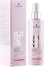 Parfüm, Parfüméria, kozmetikum Tonizáló spray - Schwarzkopf Professional BlondMe Instant Blush Spray