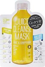 """Parfüm, Parfüméria, kozmetikum """"Toszkán káposzta és grapefruit"""" arcmaszk - Ariul Juice Cleanse Mask Kale & Grapefruit"""