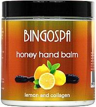 Parfüm, Parfüméria, kozmetikum Mézbalzsam kézre citrommal és kollagénnel - BingoSpa