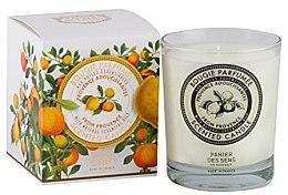 Parfüm, Parfüméria, kozmetikum Illatosított gyertya - Panier Des Sens Decorative Scented Candle In Glass Provence