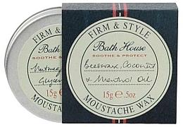 Parfüm, Parfüméria, kozmetikum Bajusz és szakál viasz - Bath House Menthol Snorwax
