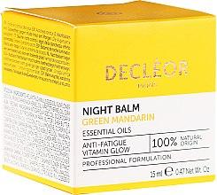 Parfüm, Parfüméria, kozmetikum Arcápoló balzsam, éjszakai - Decleor Green Mandarin Glow Night Balm