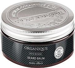 Parfüm, Parfüméria, kozmetikum Mattító arc- és szakállbalzsam férfiaknak - Organique Pour Homme Beard Balm Matte Effect