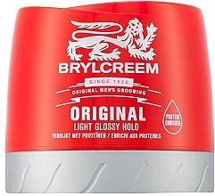 Parfüm, Parfüméria, kozmetikum Hajformázó krém - Brylcreem Original Light Glossy Hold
